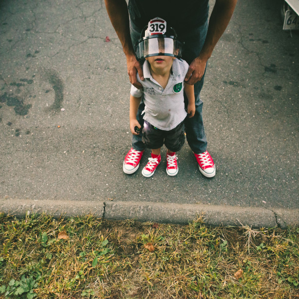 Red Chucks // Kids